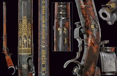 An outstanding target carbine by De Petigny, exhibited at the Industrial Exposition in 1839  France, second quarter of the 19th Century - www.Rgrips.com
