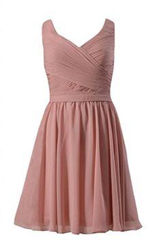 DaisyFormals Short Deep V-Neckline Chiffon Bridesmaid Dress(BM5196S)- Dusty Rose DaisyFormals http://www.amazon.com/dp/B00QJRQHPK/ref=cm_sw_r_pi_dp_.wYEvb0XX7RF1