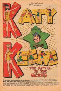"""Katy Keene in """"The Battle of The Sexes"""" starring Jughead"""