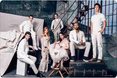 Vestidos así de blanco parece que van de funeral ♧