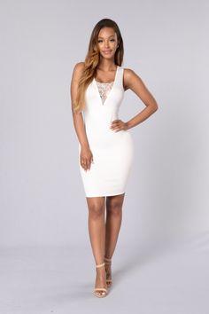 Glorification Dress - White