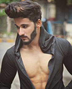 Top Hairstyles For Men, Creative Hairstyles, Hairstyles Haircuts, Haircuts For Men, Different Beard Styles, Quiff Haircut, Modern Pompadour, Edgy Hair, Beard Love