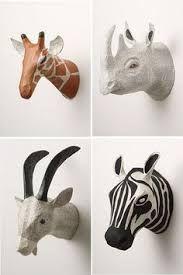 Resultado de imagen para jirafas de madera para decoracion