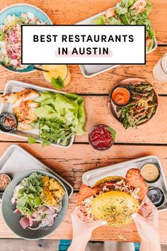 Best Restaurants In Austin Puffy Tacos, Prickly Pear Margarita, Brunch Cafe, Healthy Grains, Breakfast Tacos, Beef Ribs, Southern Recipes, Places To Eat, Central Texas