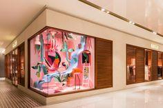 The Impossible Garden — Heavy Eyes Window Display Design, Store Window Displays, Boutique Interior, Magic Room, Hermes Window, Hermes Store, Retail Windows, Exhibition Display, Visual Display