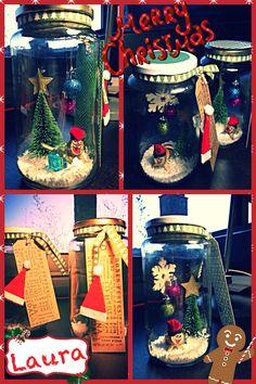 Mason jar#catalunya#tio de Nadal #christmas decoration