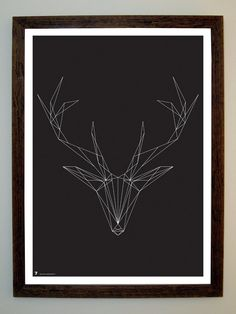 string art -- White Tail Deer