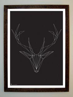 string art  -- White Tail Deer