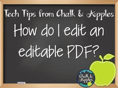 How to edit an editable PDF - Easy visual instructions!