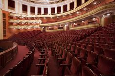 inside of the Opera House. Yerevan, Armenia