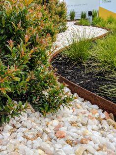 In-ground - Straightcurve - AU Garden Beds, Home And Garden, Steel Edging, Weathering Steel, Tree Rings, Moon Garden, Amazing Pics, Garden Supplies, Pathways