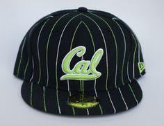 CAL-BERKELEY-BEARS-NEW-ERA-HAT-7-5-8-LIMITED-RELEASE-PINSTRIPE-GREEN-BLACK