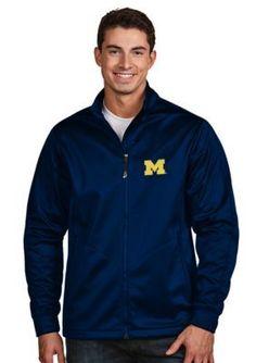 Antigua Navy Michigan Mens Golf Jacket