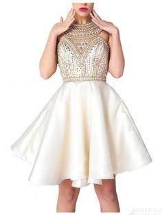 beading homecoming dresses #SIMIBridal #homecomingdresses