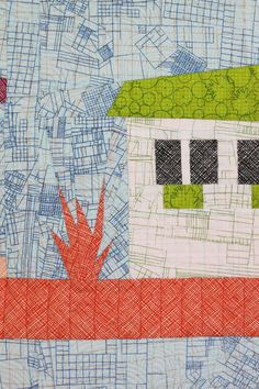 the local quilt by carolyn friedlander  -- more of the architecture fabric.