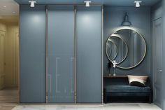 Best Apartment Door Entrance Design Ideas You are in the right place about entrance facade Here we offer you the most beautiful pictures about the entrance storage you are looking for. Door Design Interior, Entrance Design, Hall Design, Apartment Interior Design, Entrance Halls, House Entrance, Hall Wardrobe, Wardrobe Door Designs, Wardrobe Design Bedroom