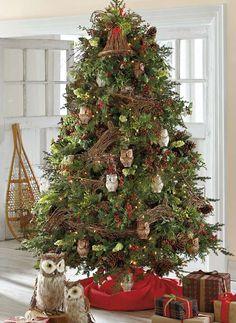 9ab4e29dca133 Create an enchanted forest scene with our lifelike Woodland Tree Décor Kit.  Fir Christmas Tree