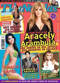 revista tvynovelas aracely arambula nos revela sus secretos intimos sexy...