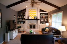 Love Jamie's blog about updating their 1970s home.  She has great ideas with before and after pics!