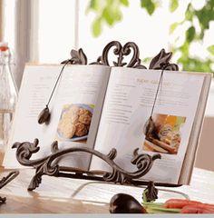 how to make a cookbook holder