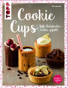 """Kekse sind ja an und für sich schon was Tolles. Und es gibt unzählige Geschmacksrichtungen. Aber Formen? Mal abgesehen von Keksen, die ausgestochen werden. Da herrscht dann doch oft eher runde Langweile.    Und genau da setzt das Buch """"Cookie Cups"""" an. Dort gibt es statt """"Milch zum Keks"""" """"Milch im Keks"""".    Vito Capezzuto, gelernter Koch und"""