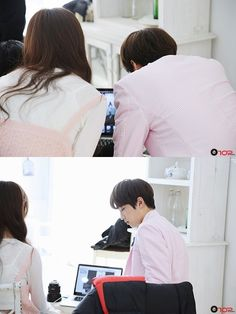 Check out these behind-the-scenes stills from GFRIEND's Yuju & UP10TION's Sunyoul's collaboration! | Koogle TV