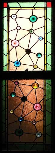 Aesthetic Movement Stained Glass Window.