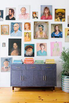 the prettiest portrait wall