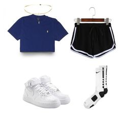 """//"" by avakitchen on Polyvore featuring NIKE"