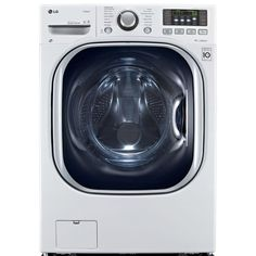 LG 4.3-cu ft Ventless Combination Washer and Dryer with Steam Cycle (White) ENERGY STAR