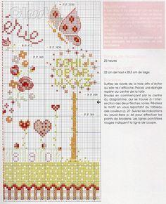 Spring Cross Stitch - Right