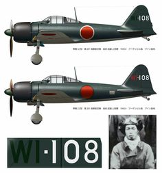 Takeo Okumura, 201°Kokutai, 1943. Navy Aircraft, Ww2 Aircraft, Fighter Aircraft, Military Aircraft, Fighter Pilot, Fighter Jets, In The Air Tonight, Imperial Japanese Navy, War Thunder
