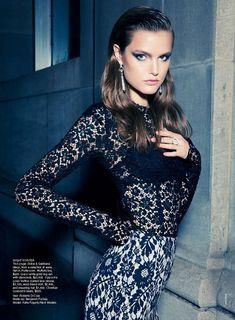 Katie Fogarty by Kai Z. Feng for Vogue Australia, September 2011