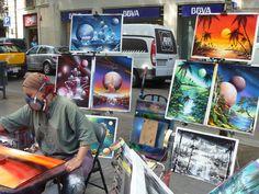 Spray Paint Street Artist by Common-Loon on DeviantArt