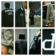 Hot trends in #menswear #streetwear  SPORTY, COLLEGIATE @DiamondSupplyCo. 2015 Fall/Winter New Arrivals  #urban #Streetluxe #dandy #bespoke #mensfashiontrends #mensjackets #hiphopclothing  #mensfashiontrends #dandystyle #dapper #mensfashionnetwork #mensfashiontrends #gq #complex #hypebeast #urban #cyclists #mensstyle #malemodels #mensouterweartrends #fashionnews #luxury #athleticwear #sportswear