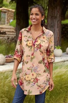 Rosina Shirt from Soft Surroundings