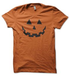 c39f43ac8e7 Celebrate the candy day in style with this Jack-O-Lantern Face Halloween - Tee  Shirt