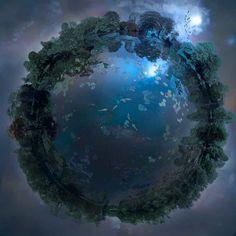 fantasma na máquina - Future Memories: Flutuando Worlds por Catherine ...