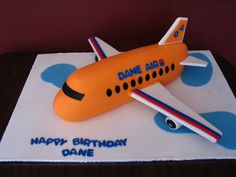 Airplane Cake Template - Bing Images