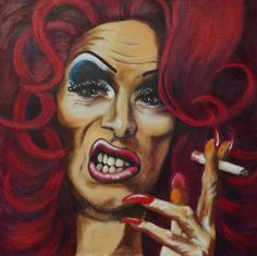 Miss Mary-Jane  Acrylic on canvas  Size 30 x 30cm  ©copyright protected