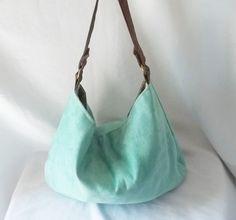 Hobo  Vegan suede slouch bag  Handmade handbag  Pick by ACAmour, $44.00