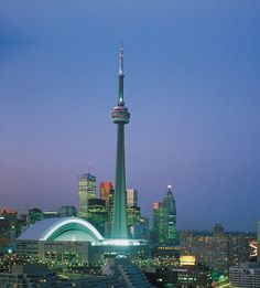 CN Tower Toronto.  We came. We saw. We had dinner at the revolving restaurant.