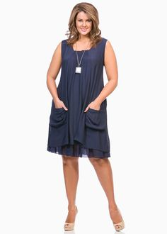 Big Sizes Womens Clothing | Clothes for Larger Size Women - MORLEY DRESS - TS14  January 2015
