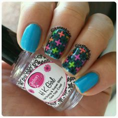 reverse stamping @pueencosmetics plate 1 added to @mtlcreations The (LE) Specials