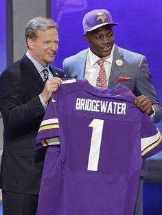 NFL draft | Teddy Bridgewater scooped up by Vikings #32 ... gocards!
