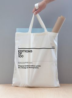 Tote bag : 100 edition