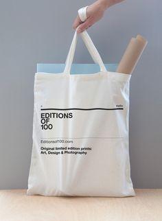 Tote bag : 100 edition