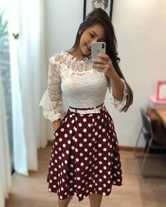 What To Wear To Sunday Brunch Outfit Casual Best Ideas Modest Outfits, Skirt Outfits, Modest Fashion, Casual Outfits, Fashion Dresses, Blouse And Skirt, Dress Skirt, Dress Up, Trend Fashion
