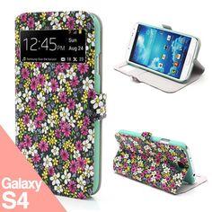 Flowers S4 -  Funda Samsung Galaxy S4 - La Tienda de Doctor Manzana