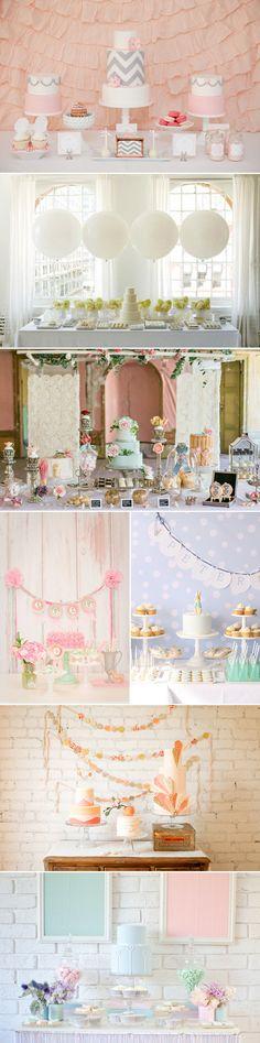 Qual'è il momento più dolce di un matrimonio? Il taglio della torta e il buffet dei dolci. Oggi vi proponiamo 32 idee per allestire un candy bar.